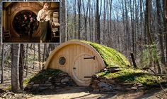 Maine+couple+constructs+elaborate+Lord+of+the+Rings-style+hobbit+holes #DailyMail