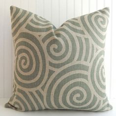 Upholstery Pillow Cover  Sage Green Pillow by PookadellasHomeDecor, $24.00
