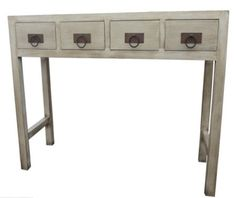 arrimo 4 cajones corchete ideal como recibidor para tu hogar. Entryway Tables, Furniture, Home Decor, Oriental Furniture, Hall, Drawers, Offices, Ornaments, Home
