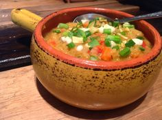 delish in a dish: Mexican Lentil Soup