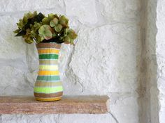 Vase / Autumn home decor / Fall Colors by CarriageOakCottage, $26.00