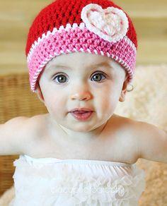 lovely crochet hat pattern