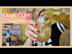 Caramel Apple Sangria | Pinterest Drink #67 | MamaKatTV