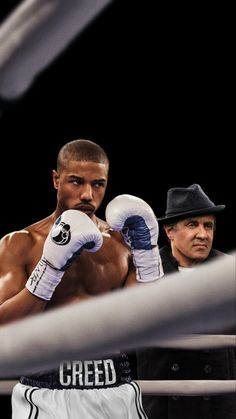 Michael B Jordan And Sylvester Stallone In Creed Iphone XS,Iphone X HD Wallpapers, Images, Backgrounds, Photos and Pictures Michael B Jordan, Creed Movie, Boxing Posters, Cute Black Guys, Aesthetic People, Boxing Training, The Best Films, Sylvester Stallone, Fine Men