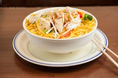Main Dishes -  Noodle Soup Chicken