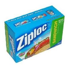 Ziploc Sandwich bags - For that additional layer of waterproofing