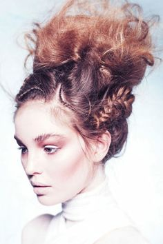 Hair: Jonathan de Francesco for Brooks+Brooks. Make-up: Jairo Dual Bayo. Products: L'Oréal. Photography: Jenny Hands
