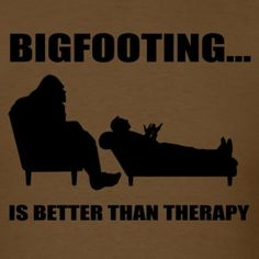 Bigfooting Therapy Men's T-Shirt