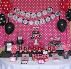 90 Best Minnie Mouse Birthday Party Images Tissue Pom Poms First