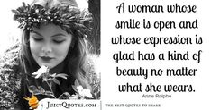 Quote About Beauty - Anne Rolphe