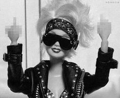 badass barbie.
