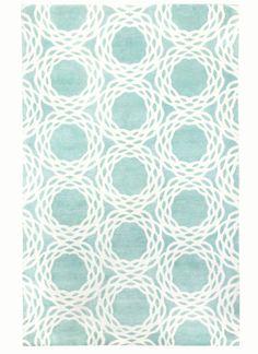 COCOCOZY for Capel Rugs - Oxford Sea Foam rug. Interior design. Decor. Wool Indo Tibetan. http://cococozy.com