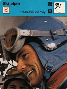 Jean-Claude Killy at Portillo, Chile downhill ski race 1966.