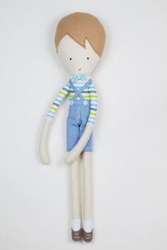 laLoosia, boy doll, cloth doll