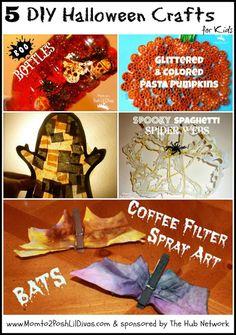 5 DIY Halloween Crafts for Kids - Mom to 2 Posh Lil Divas