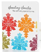 Sending Smiles Card by @Teri Anderson - supplies and instructions included