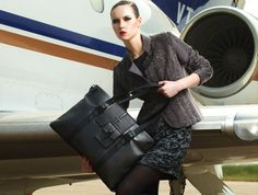 I love to see vegan products glamorized - new handbags from GUNAS