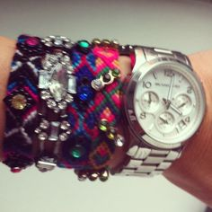 Friendship bracelets #Michael Kors