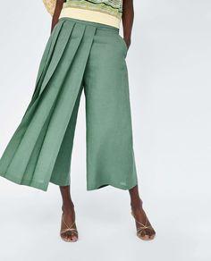 La falda pantalón vuelve (y hemos encontrado el modelo perfecto en Zara) | Telva.com