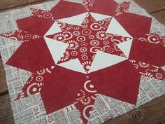 """Swoon quilt pattern in Moda Sweetwater """"Home Town"""" fabric - I have this pattern and this fabric, just not the time right now!"""