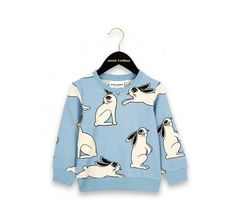 Rabbit Sweatshirt made from organic cotton, from Mini Rodini AW16's Young & Free in Alaska Collection