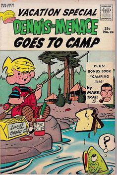 Dennis the Menace 24 1953 Series Vacation Special Dennis
