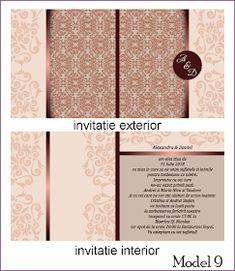 BebeStudio11.com - Invitatii Nunta si Botez: Invitatii Nunta Patrate