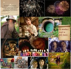 """Happy Birthday, J.R.R. Tolkein!!!!!!!"" by theatreghost ❤ liked on Polyvore"