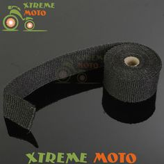 best price 16ft roll fiberglass exhaust heater pipe heat wrap tape with ties for ktm crf cr yz yzf wr #fiberglass #pipe