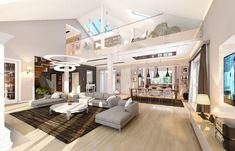 Projekt domu Rezydencja Parkowa 3 - 259,28 m2 - koszt budowy 361 tys. zł House Plans, Bed, Furniture, Home Decor, City, Decoration Home, Stream Bed, Room Decor, Home Furnishings