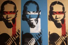 Robert Johnson - by Jesse Diss #art #print #blues