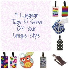 9 Luggage Tags to Show Off Your Unique Style