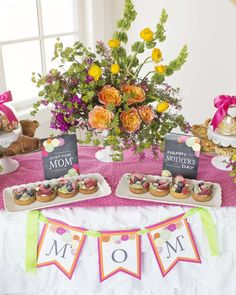 """Don't miss this """"Coffee With Mom"""" Mother's Day celebration! See more party ideas and share yours at CatchMyParty.com"""