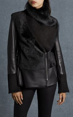 Discover women's clothing for work, weekend or special occasions. Shop Karen Millen's new collection of dresses, coats and tailoring for women now. Black Shearling Jacket, Tweed Jacket, Leather Jacket, Short Black Jacket, Coats For Women, Jackets For Women, Versace Jacket, Clothes For Sale, Clothes For Women