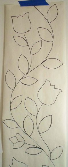 This drawing has been taped to the wall behind my computer for several years now. I drew it way back in 2006 or 2007 as part of a series of row robin quilts my Colorful Scrunchers group was d…