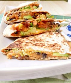 Meatless Monday A-Z: Jalepenos... Sweet potato jalapeño black bean quesadillas