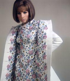 Barbra Streisand in Arnold Scassi.