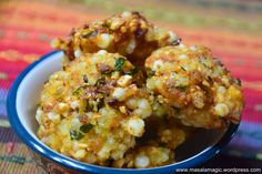 Crispy and Delicious Recipe Sabudana Vada, Melting In The Mouth, Green Chutney, Coriander Leaves, Frying Oil, Red Chili, Street Food, Cauliflower, Cravings