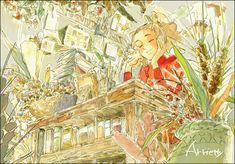 enoqi: Studio Ghibli in Watercolor, by Masuo