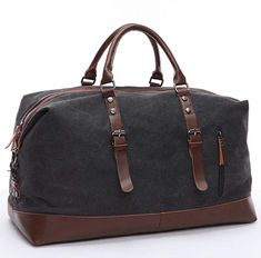 Cheap weekend bag, Buy Quality travel bag directly from China men travel bags Suppliers: Scione Canvas Leather Men Travel Bags Carry on Luggage Bag Men Duffel Bags Travel Tote Large Weekend Bag Overnight Male Handbag Travel Bags Carry On, Mens Travel Bag, Duffle Bag Travel, Travel Tote, Solo Travel, Vacation Travel, Canvas Duffle Bag, Canvas Travel Bag, Duffel Bags