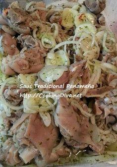 Este plato es de panama y consits de carne y verduras. Este plato se ve muy bien.
