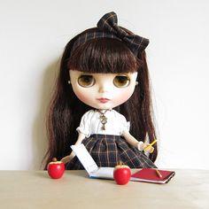Miniature Apple for Blythe & Pullip Dolls