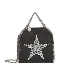 STELLA MCCARTNEY Tiny Bella Shaggy Deer Embellished Cross Body. #stellamccartney #bags #shoulder bags #clutch #leather #hand bags #