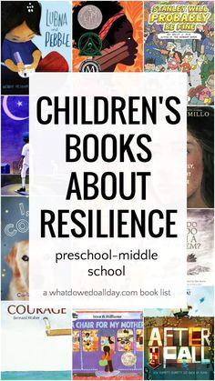 Best children's books about resilience and strength in tough times. Picture books and middle grade books for kids ages Love Book Quotes, I Love Books, Read Aloud Books, Children's Books, Grade Books, Best Children Books, Book Lists, Reading Lists, Chapter Books