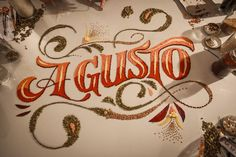 Creative Lettering & Typography by Panco Sassano | Inspiration Grid | Design Inspiration