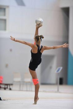 Alexandra SOLDATOVA (Russia) ~ Training Ball  routine @ WC Baku 2016   Photographer Oleg Naumov.
