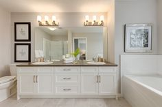 The Valley - Ensuite Bathroom Double Sinks, Double Vanity, New Home Builders, New Homes, Bathroom, Washroom, Full Bath, Bath, Bathrooms