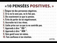 10 pensées positives
