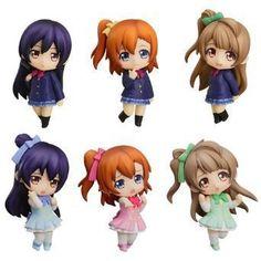 Hot New Kwaii 6pcs/set love Live! School Idol Project PVC Figures Toys Kousaka Honoka Minami Kotori Sonoda With Gift Box-in Action & Toy Figures from Toys & Hobbies on Aliexpress.com | Alibaba Group