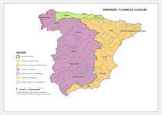 C.Sociales: Las vertientes de la peninsula Iberica